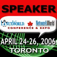 Linux World 2006 Speaker